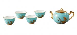国瓷永丰源夫人瓷 6/7头茶具中国风杯子家用茶具套装陶瓷泡茶