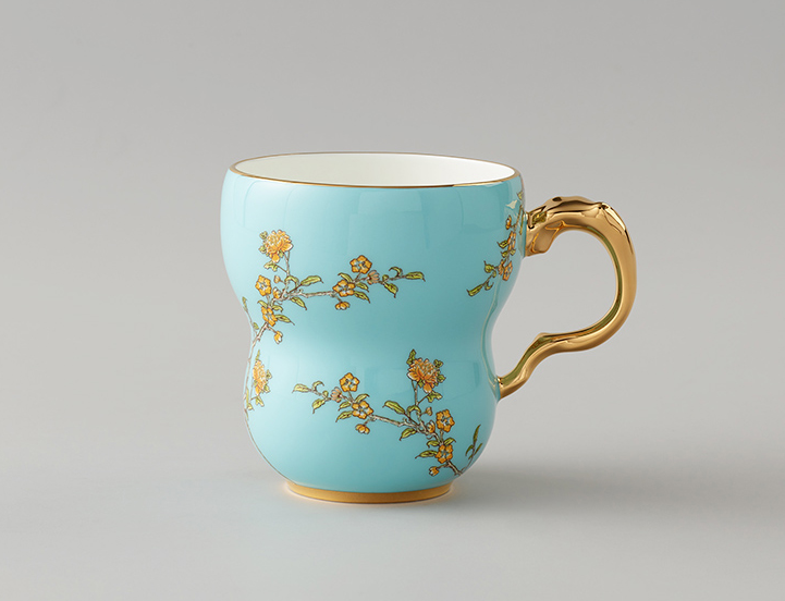 国瓷永丰源夫人瓷 280ml马克杯茶杯中国风情侣陶瓷杯