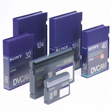 专业DVCAM录像带转录数字化采集整理、编辑、归档、智能数字影音档案化应用服务